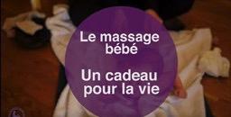massage bébé de 0 à 9 mois